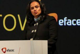 Isabel dos Santos não receberá nada pela nacionalização da Efacec