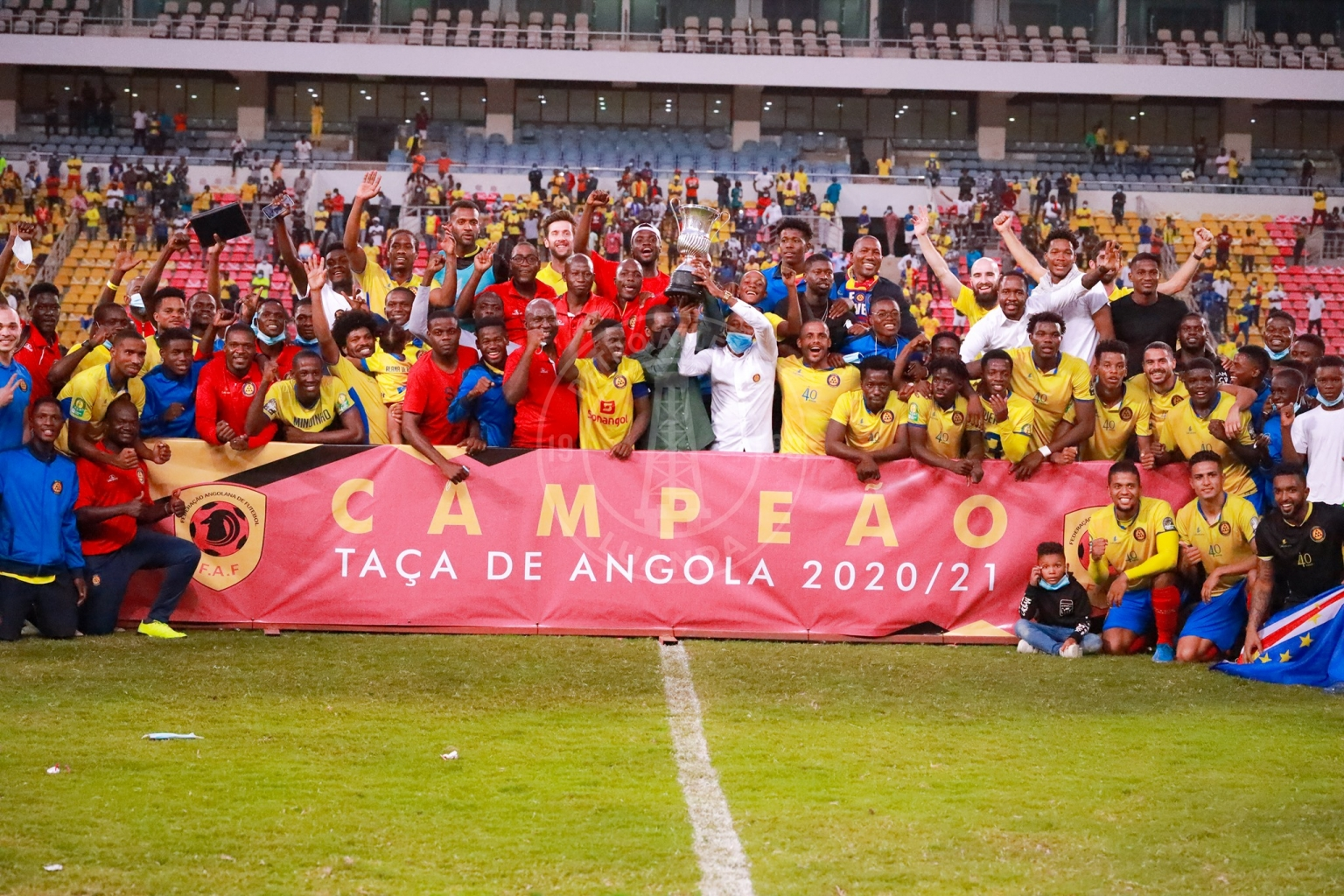Petro de Luanda é o novo Campeão da Taça de Angola