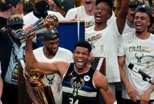 Milwaukee Bucks são os novos campeões da NBA