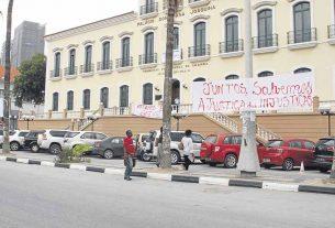 Funcionários do Palácio da Justiça em Viana entram em Greve
