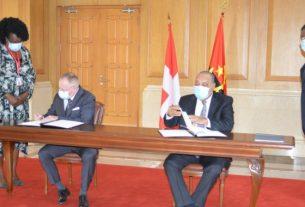 Angola e Suíça assinam Memorando de Entendimento em Matéria Penal