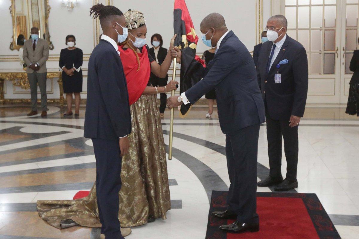 Presidente da República recebe Delegação Angolana que irá aos Jogos Olímpicos de Tóquio 2021