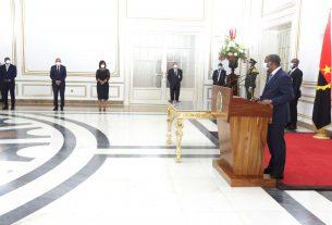 Presidente da República empossou hoje a nova Governadora de Luanda