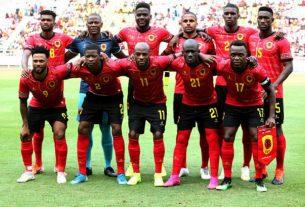 Angola mantém posição na classificação da FIFA