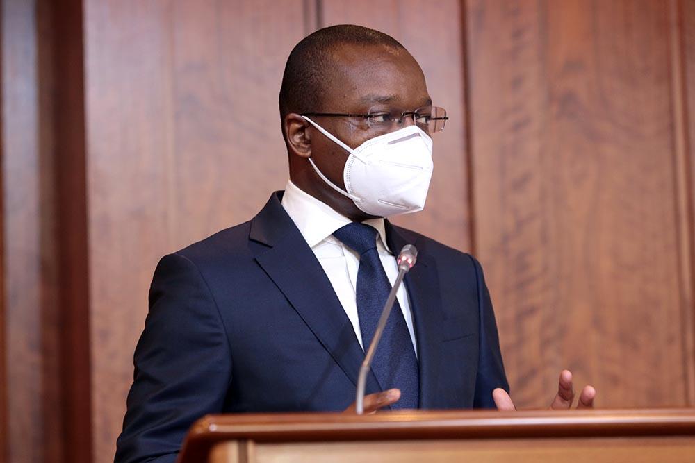Ministro de Estado reafirma separação de poderes entre órgãos de soberanias