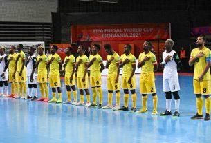 Angola termina disputa do Mundial de futsal sem vitórias