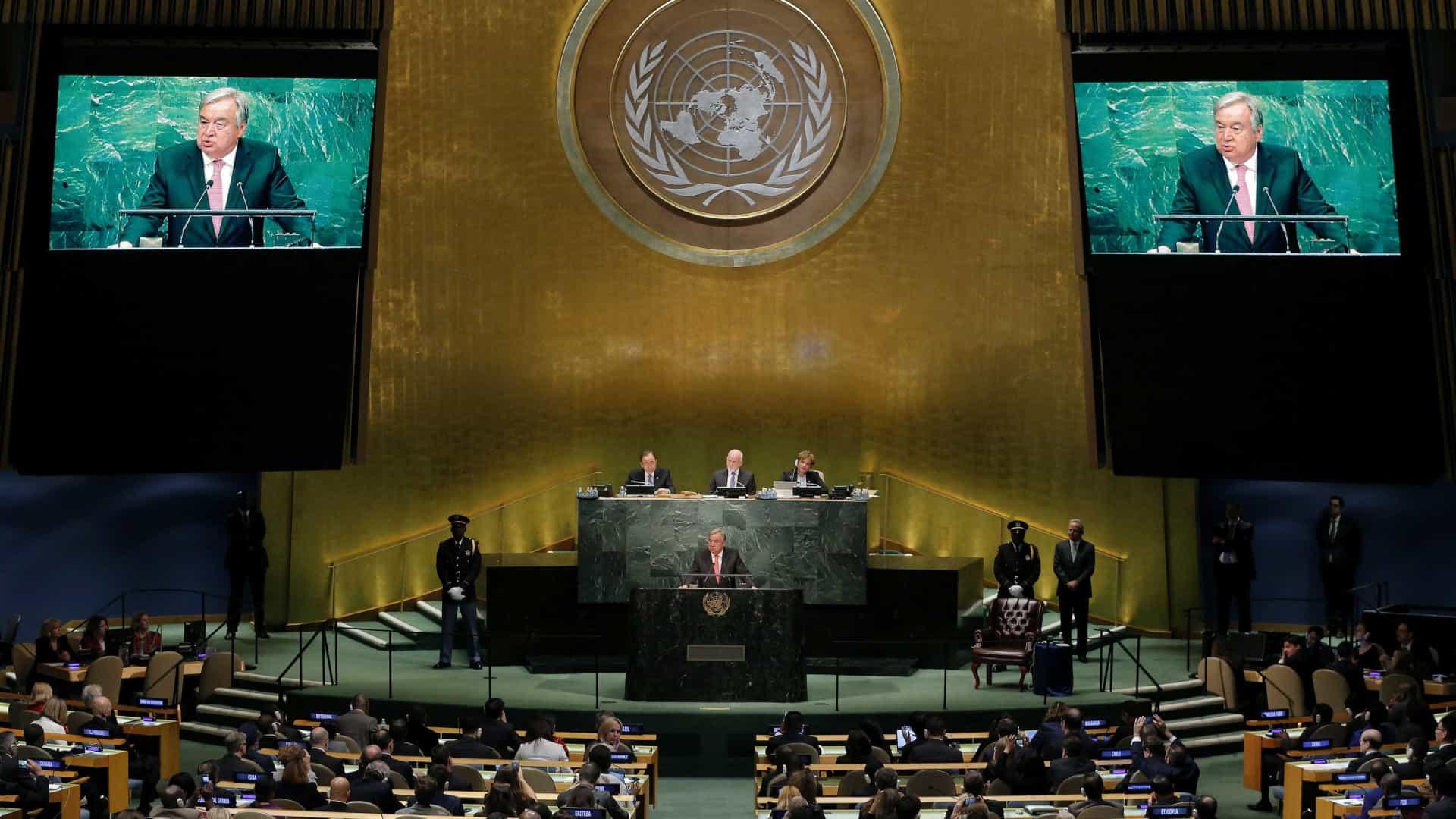Participantes na AG da ONU terão de apresentar certificado de vacinação