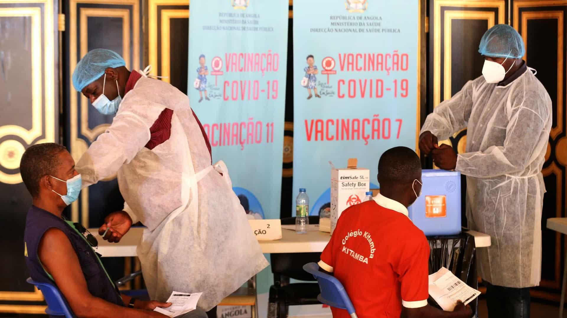 País tem vacinas para imunizar 60% da população até final do ano