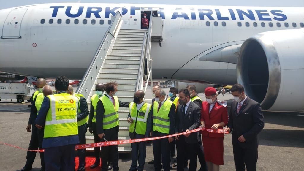 Aberta ligação aérea entre Angola e Turquia