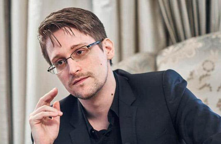 """Edward Snowden diz que moedas digitais de bancos centrais são """"criptofascistas"""" e podem """"aniquilar poupanças"""""""