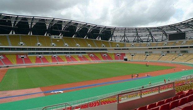 CAF inspecciona três estádios no país